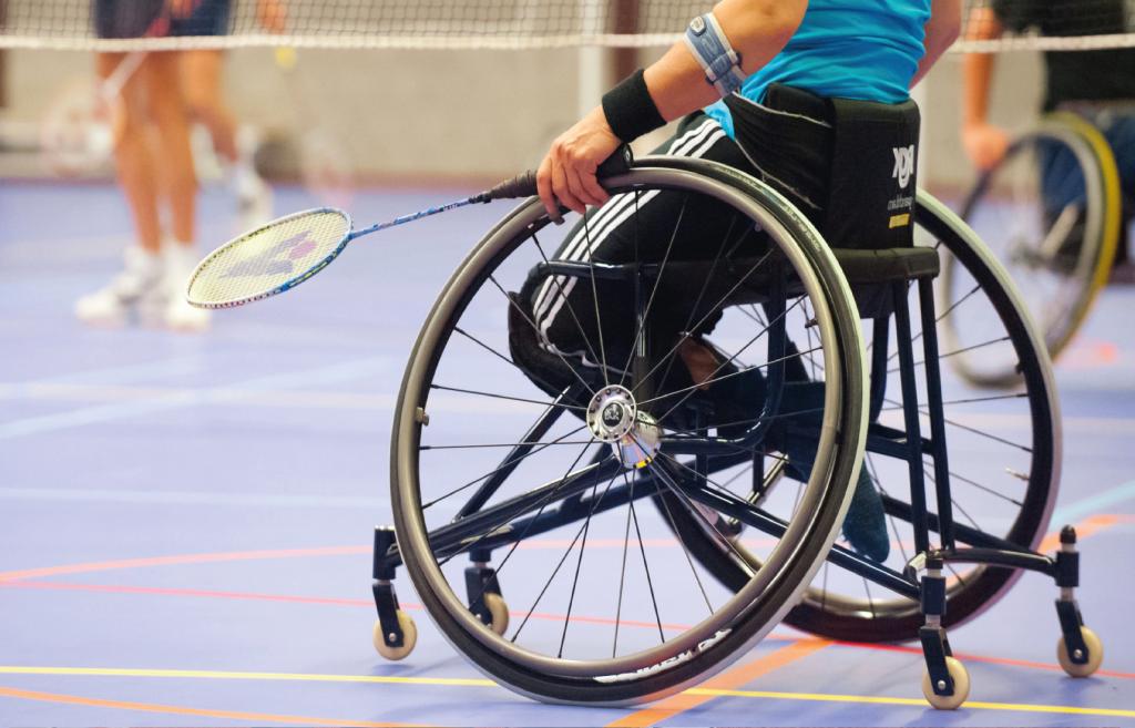 Sporten vanuit een rolstoel